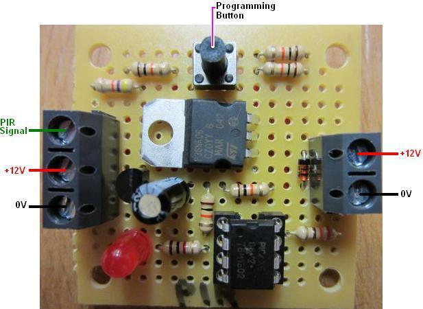 REUK Programmable PIR motion detector timer