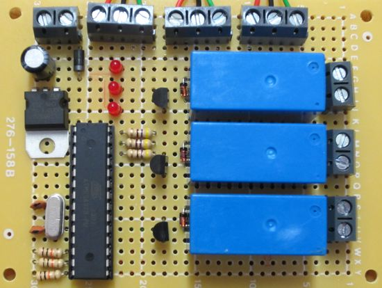 Project of the Day – Multiple PIR Sensors to Control