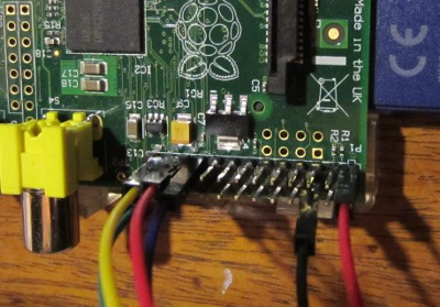 raspberry pi GPIO analogue inputs