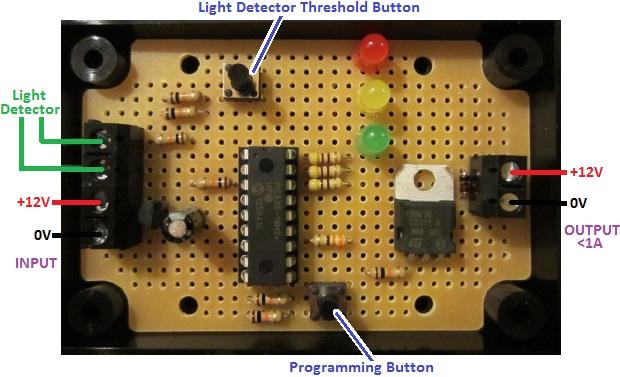 REUK Super Timer with light detector override