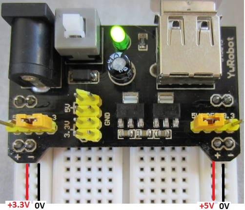 mb102 breadboard power supply module