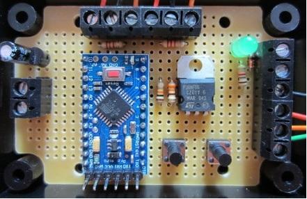 heating circuit pump controller