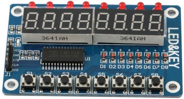 TM1638 Arduino Display Module