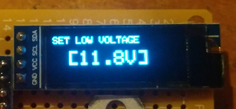 battery mah capacity meter low voltage disconnect