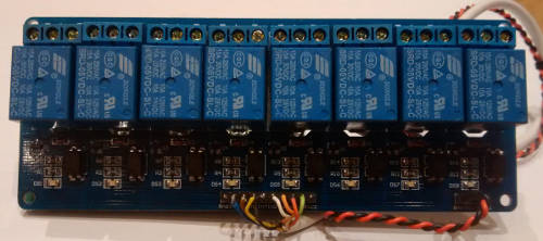 relay board for irrigation timer controller