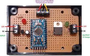 Temperature sensor DS18B20 Etanche Sonde 1m waterproof