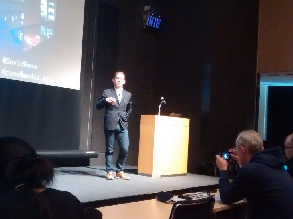 big data analytics tokyo 2017 - Speaker David Rose