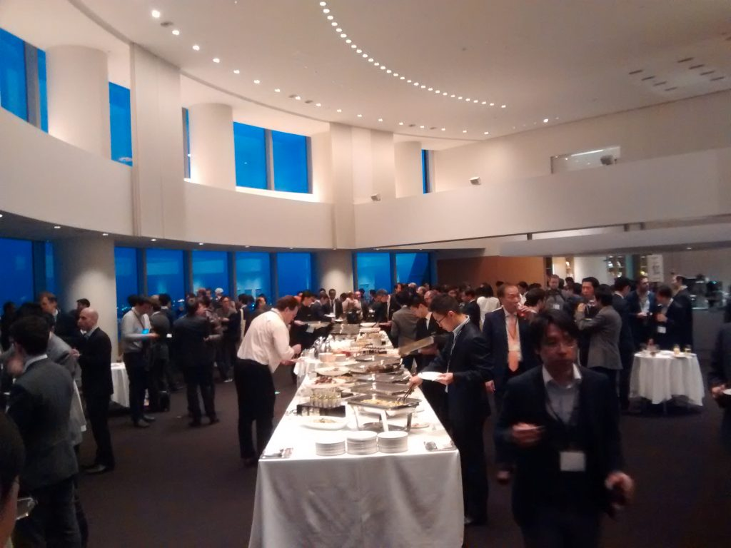 networking reception at Big Data Analytics Tokyo 2017 conference