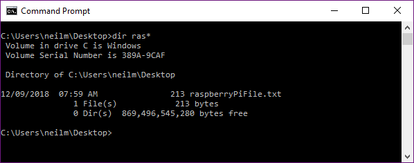 file successfully copied from Raspberry pi to PC
