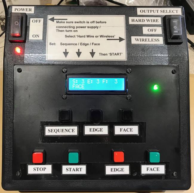 shooting-target-controller-panel